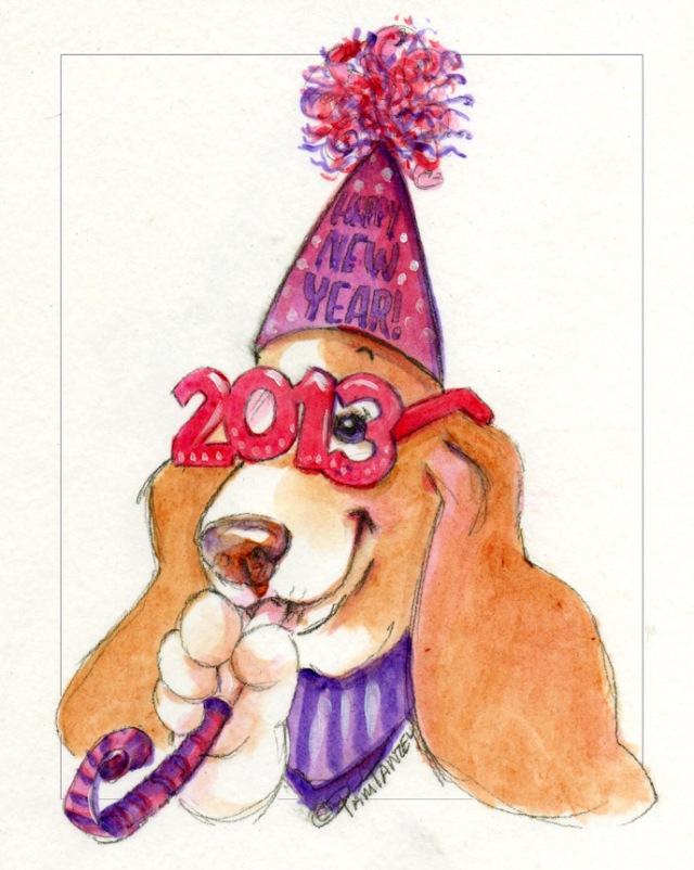 basset-new-year-art-pamtanzey